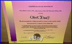 How The Grinch Stole Christmas Original Production Cel Max Signed Chuck Jones