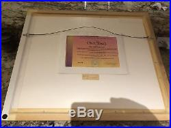 How the grinch stole christmas cel who christmas feast signed chuck jones cell