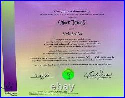Hula-Lei-Lei Chuck Jones Signed Animation Cel