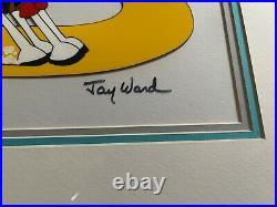 Jay Ward signed cel Dudley Do-Right Very Rare Limited Edition
