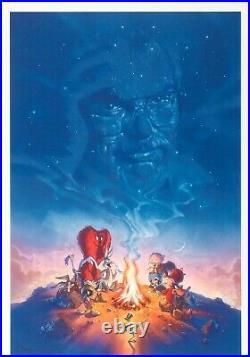 John Alvin SignedA Reel Good Story Limited Ed Giclee Chuck Jones Tribute Print