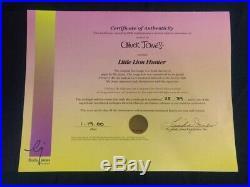 LITTLE LION HUNTER Signed Chuck Jones Limited Edition Cel'INKY & MYNA BIRD