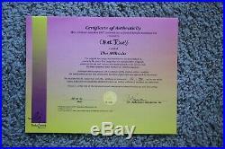 Limited Ed 102/750 The Mikado Cel Signed Chuck Jones Warner Bros/certificate