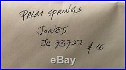 Looney Tunes Bugs Bunny FRAMED Signed CHUCK JONES W. B. Palm Springs Cel