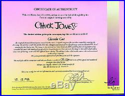 Looney Tunes Chuck Jones estate Signed Limited Edition Gicleé #74/120 WithCOA