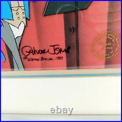 MAESTRO BUGS Looney Tunes Orchestra Music Conductor CHUCK JONES Cel Art Signed