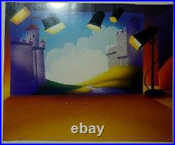 MARK OF ZERO Chuck Jones -Sold Out Ltd Ed Sericel-Hand-Painted Color COA