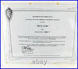 MICHIGAN J. FROG V Chuck Jones Limited Signed Cel Art Warner Bros. Gallery