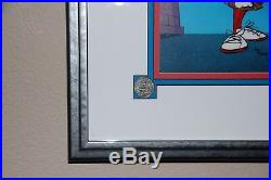 Marvin the Martian METER LEADER LE Hand Painted Cell Autographed by Chuck Jones
