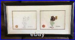One of a kind Chuck jones signed Duck Dodgers in the Return the 24 1/2th century