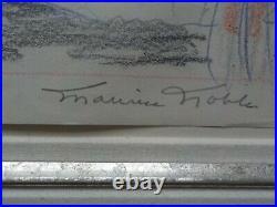 Original Warner BOYHOOD Daze Sketch Drawing Cel Cell Signed Chuck Jones/Noble