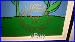 Pepe le pew warner brothers cel pepe In the tulips rare signed chuck jones cell