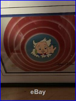 Porky Pig signed By Chuck Jones Gremlins 2 Production cell