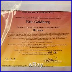 Road Runner Eric Goldberg-signed Serigraph edition of 64/150 Chuck Jones