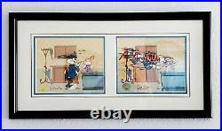 SAY AH! BUGS BUNNY Doctor Physician CHUCK JONES Art Signed Framed Cel