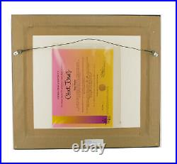 SUPER BUGS BUNNY Chuck Jones Signed Limited Cel Art Cell Looney Tunes