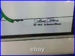 S/O Wild About Harry Cel Hand-Signed Chuck Jones Michigan J Frog UF Ltd Ed