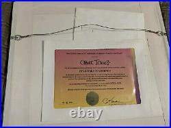 Sam & Bugs Bunny Hare to Eternity Signed by Chuck Jones