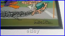 Sausage Factory by Chuck Jones Sold Out L/E cell signed #459/500 framed