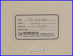 Signed Chuck Jones Animation Cell, Pepe Le Pew and Kitty, William Kiss and Tell