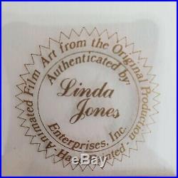 Signed Chuck Jones Original Production Cel Baby Bugs Bunny Elmer J Fudd 1980
