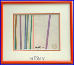 Signed Orig. Production Cel From Chuck Jones' Oscar-winning The Dot And The Line