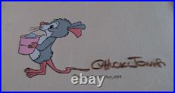 The Cricket In Times Square Original Production Art Signed Chuck Jones (1979)