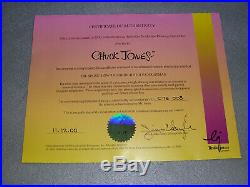 The Grinch Who Stole Christmas Production Art Drawing Chuck Jones Signed withCOA