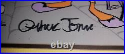 The Scarlet Pumpernickel Limited Edition 60/200 Cel Signed By Chuck Jones