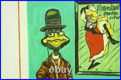 Toulouse Le Duck By Chuck Jones Ltd Edition Lithograph Signed 141/350 Daffy
