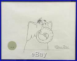 #WB10 Horton'Horton Hears a Who', (1970). Signed by Chuck Jones. Matted/Fr