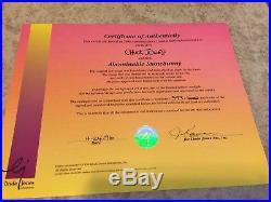 WB LE Animation Cel Bugs Bunny Abominable Snowman Chuck Jones Signed 393/500