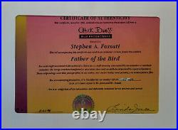 WB-Sylvester-Father of the Bird 1997 Production Cel Signed Chuck Jones+Fossati