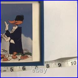 Warner Bros Bugs Bunny Daffy Duck Marriage Made In Heaven Signed Chuck Jones