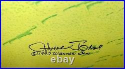 Warner Bros Cel Bugs Bunny Elmer What's Opera Doc IV Signed Chuck Jones