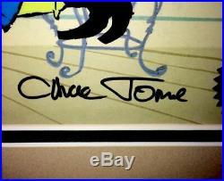 Warner Bros Cel Chuck Jones Signed Bugs Bunny Witch Hazel II Rare Number 1 Cell
