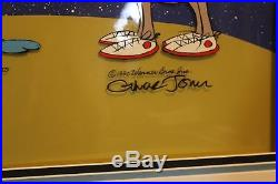 Warner Bros Cell Chuck Jones Duck Dodgers Trio LE 49/750 Signed