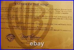 Warner Bros Chuck Jones Signed 1997 Sylvester Cat Art Print Father of the Bird