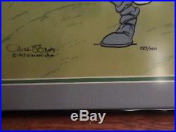 Warner Bros Limited Edition Cel - What's Opera Doc IV - Signed by Chuck Jones