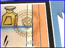 Warner Bros Signed Limited Cel 23/100 Pepe Le Pew Chuck Jones