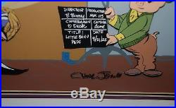 Warner Brothers 1991 Limited Edition Cel - Soundstage - Signed by Chuck Jones