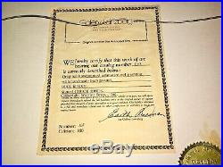 Warner Brothers Animation Cel Bugs Bunny Signed Chuck Jones Art Cell