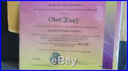 Warner Brothers Another Froggy Evening Micigan J Frog Signed by Chuck Jones