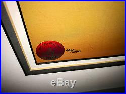 Warner Brothers Bugs Bunny Cel Left At Albuquerque Rare Chuck Jones signed cell