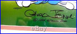 Warner Brothers Bugs Bunny Cel The Prince's Bride Chuck Jones Signed Rare Cell