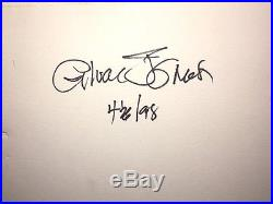 Warner Brothers Bugs Bunny Daffy Duck Cel In Concert Signed Chuck Jones Cell