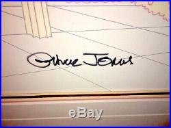 Warner Brothers Cel Bugs Bunny Elmer Fudd What's Opera Doc II Signed Chuck Jones