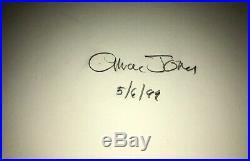 Warner Brothers Cel Bugs Bunny Frigid Hare II 2x Signed Chuck Jones Rare Cell