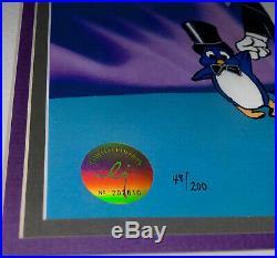 Warner Brothers Cel Bugs Bunny Frigid Hare II Signed Chuck Jones Rare Cell
