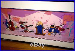 Warner Brothers Cel & Promo Quintet Bugs Bunny Daffy Rare Signed Chuck Jones